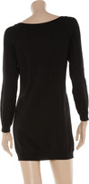 Moschino Buckled cotton and silk-blend dress