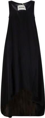 Jil Sander Sleeveless Long Wide Dress