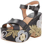 Laurence Dacade Helissa Mesh Platform Sandal