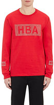 Hood by Air Men's Crystal-Logo Jersey T-Shirt-RED