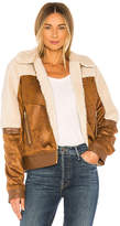 Mother Faux Fur & Vegan Leather The Trapper Keeper Jacket