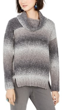 Style&Co. Style & Co Ombre Boucle Sweater, Created for Macy's