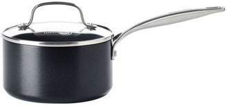Green Pan Fusion Pro 2-Quart Stainless Steel & Ceramic Nonstick Saucepan