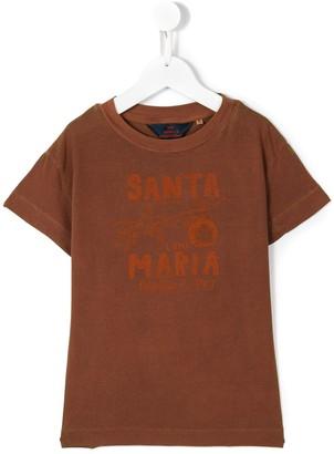 santa maria print T-shirt