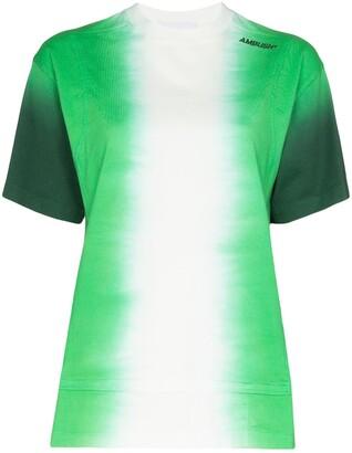 Ambush logo-print tie-dye T-shirt
