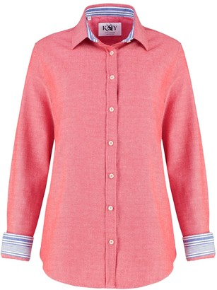 Koy Clothing Ladies Coral Red Kabisa 'Noni' Shirt