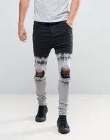 SikSilk Tye Dye Hareem Jeans
