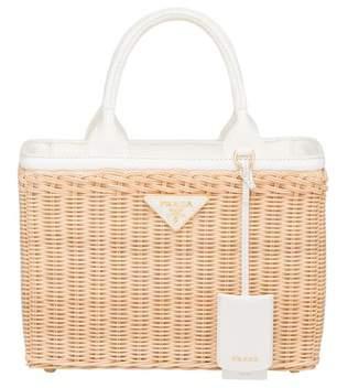0921d3a3449e Prada Wicker Bag - ShopStyle