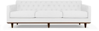 """Union Rustic Hayter 72"""" Recessed Arm Sofa Upholstery Color: Sand"""