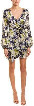 AMUR Silk A-Line Dress