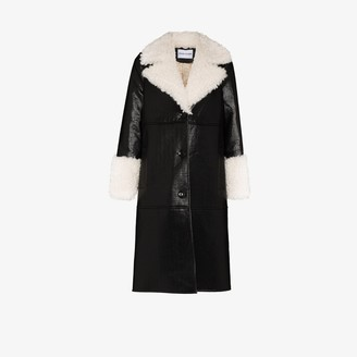 Stand Studio Linda faux leather coat