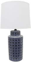 Weymouth Ceramic Lamp & Round Shade