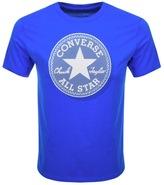 Converse Micro Dot Logo T Shirt Blue