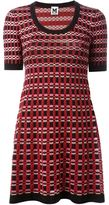 M Missoni geometric intarsia knit dress