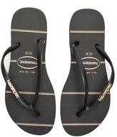 Havaianas Slim Logo Metallic Fine Lines Sandal
