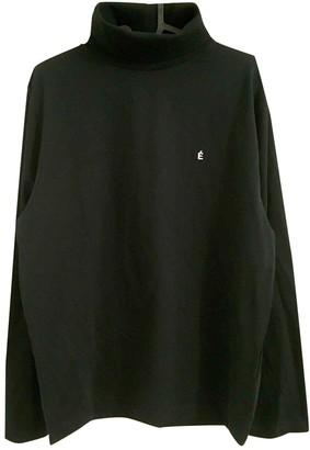 Etudes Studio Black Cotton Knitwear