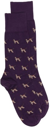 Paul Smith Homer pattern socks