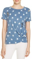 Vintage Havana Slashed Star Tee