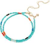 Rebecca Minkoff Seed Bead Choker Necklace