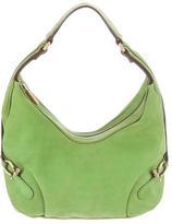 Burberry Suede Shoulder Bag