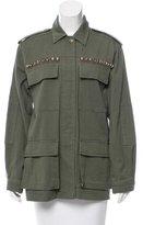 Ramy Brook Embellished Military Jacket