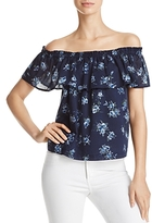 Current/Elliott The Ruffle Off-the-Shoulder Top