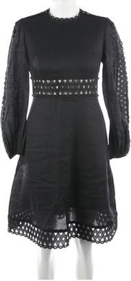 Zimmermann Black Cotton Dresses