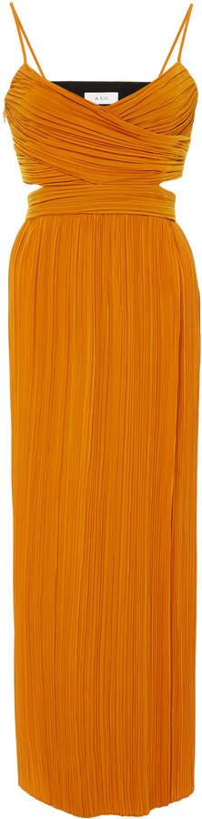 A.L.C. Sienna Wrap Top Midi Dress
