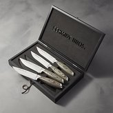 Crate & Barrel Schmidt Brothers ® Bonded Ash Steak Knives Set of Four