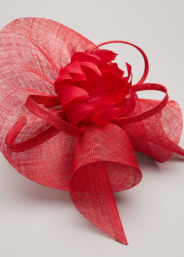 Thumbnail for your product : Phase Eight Philis Feather Flower Fascinator