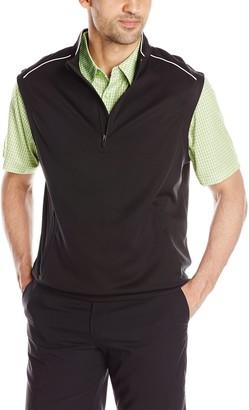 Cutter & Buck Men's Nano CB Drytec Leader Half Zip Vest