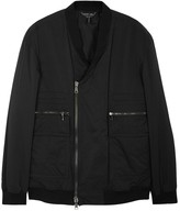Helmut Lang Black Shell Bomber Jacket