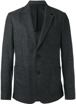 Ami Alexandre Mattiussi half-lined 2 button jacket - men - Viscose/Wool - 44