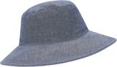 Accessorize Nautical Stripe Floppy Hat