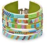 John Greed Hawaiian Tropic Beaded Cuff Bracelet
