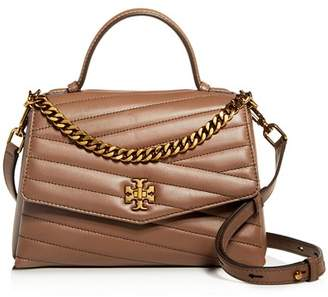 Tory Burch Kira Chevron Leather Satchel