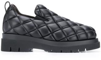 Bottega Veneta Padded Leather Loafers