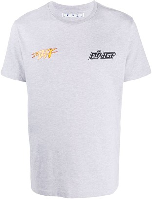 Off-White Thunder Popover relaxed-fit T-shirt