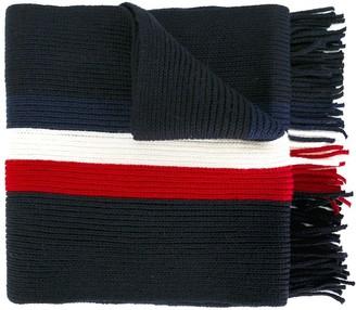 Moncler striped scarf