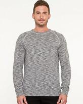 Le Château Slub Knit Crew Neck Sweater
