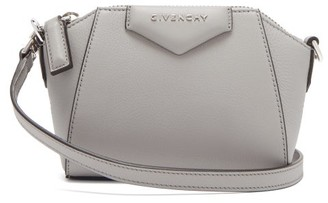 Givenchy Antigona Nano Leather Cross-body Bag - Grey