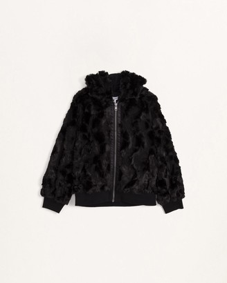 Splendid Girls Faux Fur Jacket