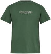 Vetements Tourist cotton T-shirt