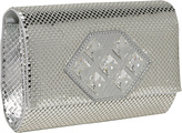 Whiting and Davis Crystal Patch Clutch
