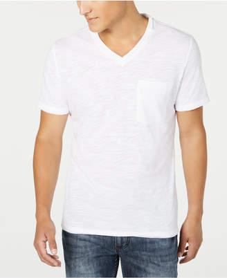 INC International Concepts Inc Men V-Neck Pocket T-Shirt