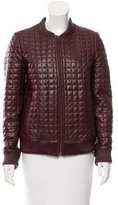 Jonathan Simkhai Quilted Leather Jacket