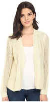 Brigitte Bailey Fringe Back Open Cardigan