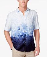 Tasso Elba Men's Fractured Print Shirt, Created for Macy's