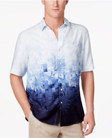 Tasso Elba Men's Fractured Print Shirt, Only at Macy's