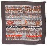 Hermes Rives Fertiles Silk Scarf